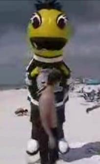 Mascot Terrorizes Spring Breakers