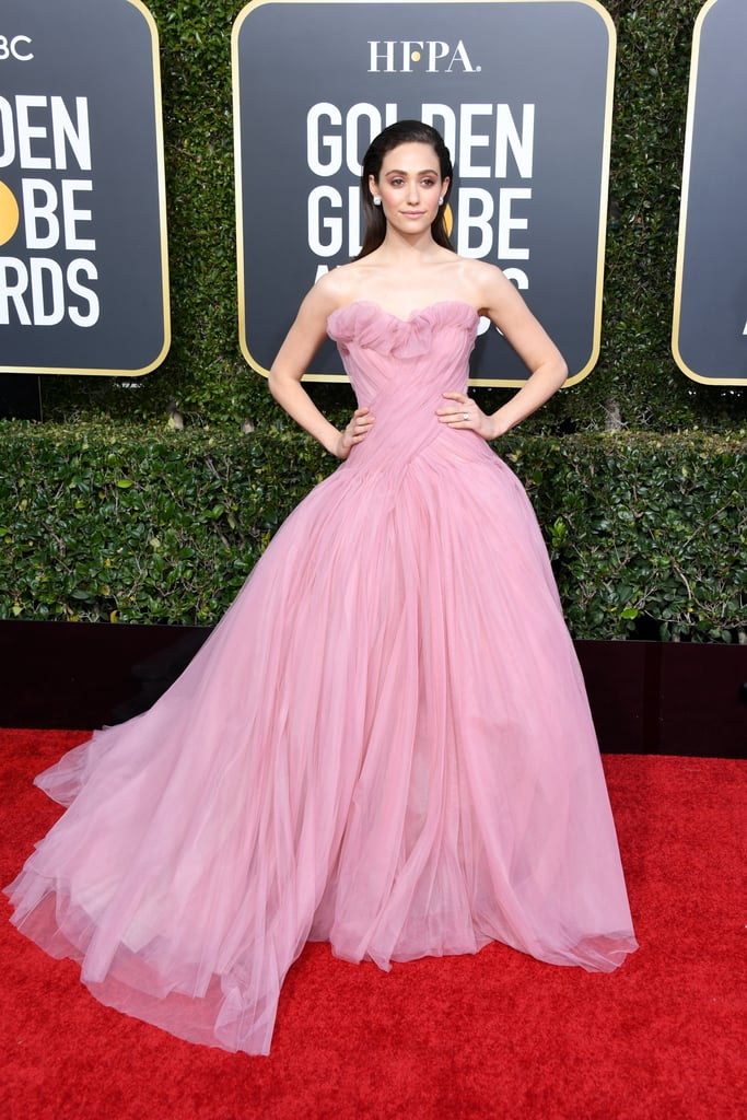 Emmy Rossum at the 2019 Golden Globes
