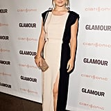 Olivia Wilde arrived at Glamour's Reel Moments in LA.