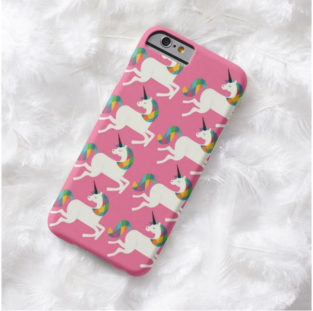 Rainbow Unicorn Phone Case ($11)