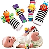 For Infants: Foot Finders & Wrist Rattles For Infants