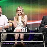 Anna and Stephen were joined on stage by the show's creator, Alan Ball.