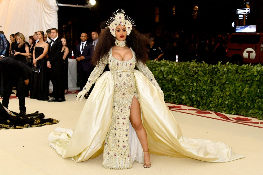 Image result for cardi b met gala