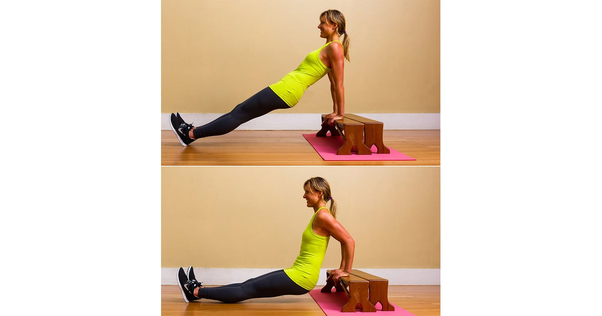 Triceps Dips Best Arm Exercises For Women Popsugar