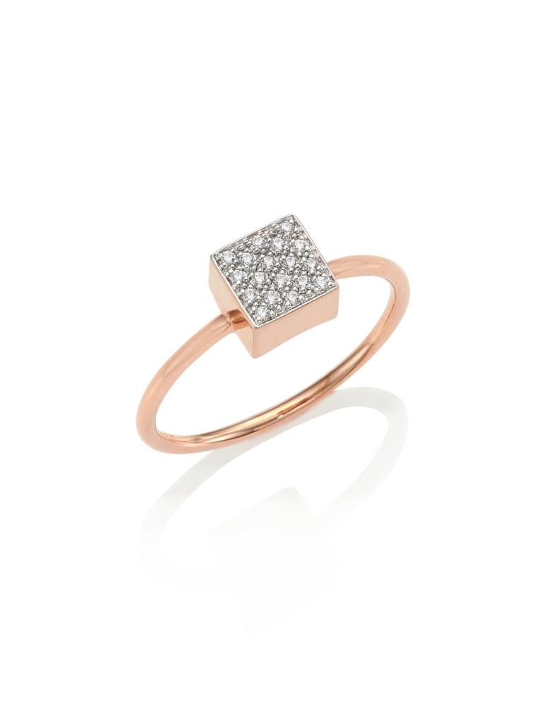 Ginette NY Baby Diamond Ever Ring