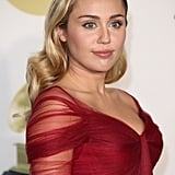 Miley Cyrus at the 60th Annual GRAMMY Awards in January 2018