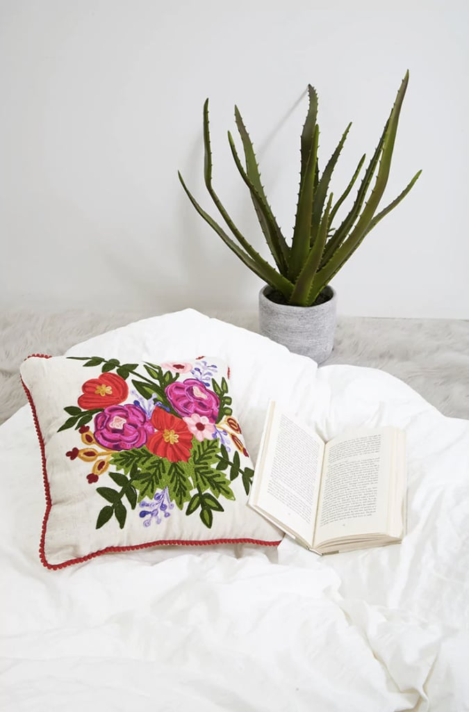 Forever 21 Karma Living Floral Pillow