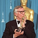 Martin Landau tenderly kissed his best actor trophy in 1995 for Ed Wood.