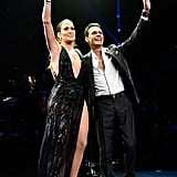 She Somehow Found Time to Go on Stage With Her Ex-Husband Marc Anthony . . .