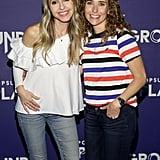 Pictured: Gabby Bernstein and Lisa Sugar
