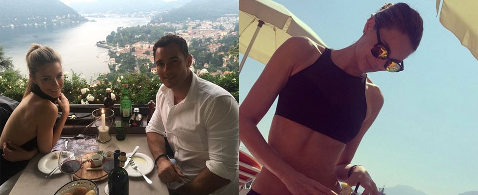 Pictures of Jennifer Hawkins and Jake Wall Trip to Italy
