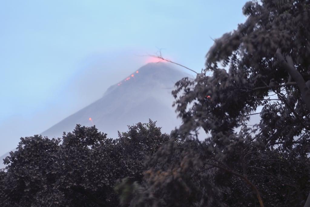 Guatemala Fuego Volcano Eruption Photos 2018