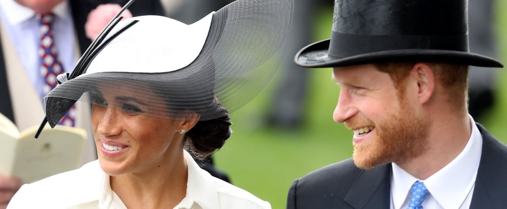 Meghan Markle's White and Black Hat Royal Ascot 2018