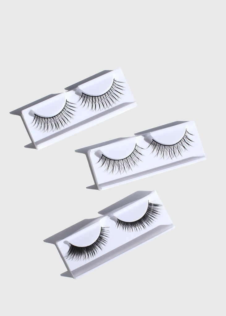 Miss A 3-Pair Fake Eyelash Kit - 201