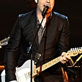 Jack White rocked out at the MusiCares event.