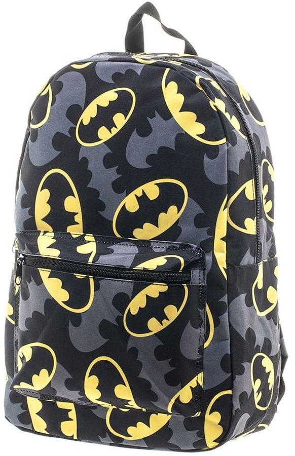 DC Comics Batman Bat Signal Backpack  e66255d294ca6