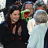 Ozzy Osbourne and Kermit the Frog, 2002