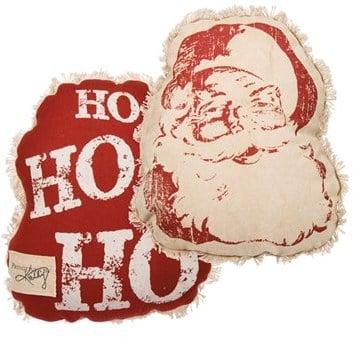 Ho Ho Ho Accent Pillow ($30, originally $40)