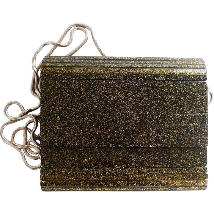 French Connection Glitter Clutch ($45)