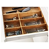 Kitchen: Ikea Variera Flatware Bamboo Tray