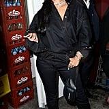 Rihanna's Bangs Haircut at Paris Fashion Week