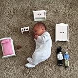 Baby vs. doll furniture.