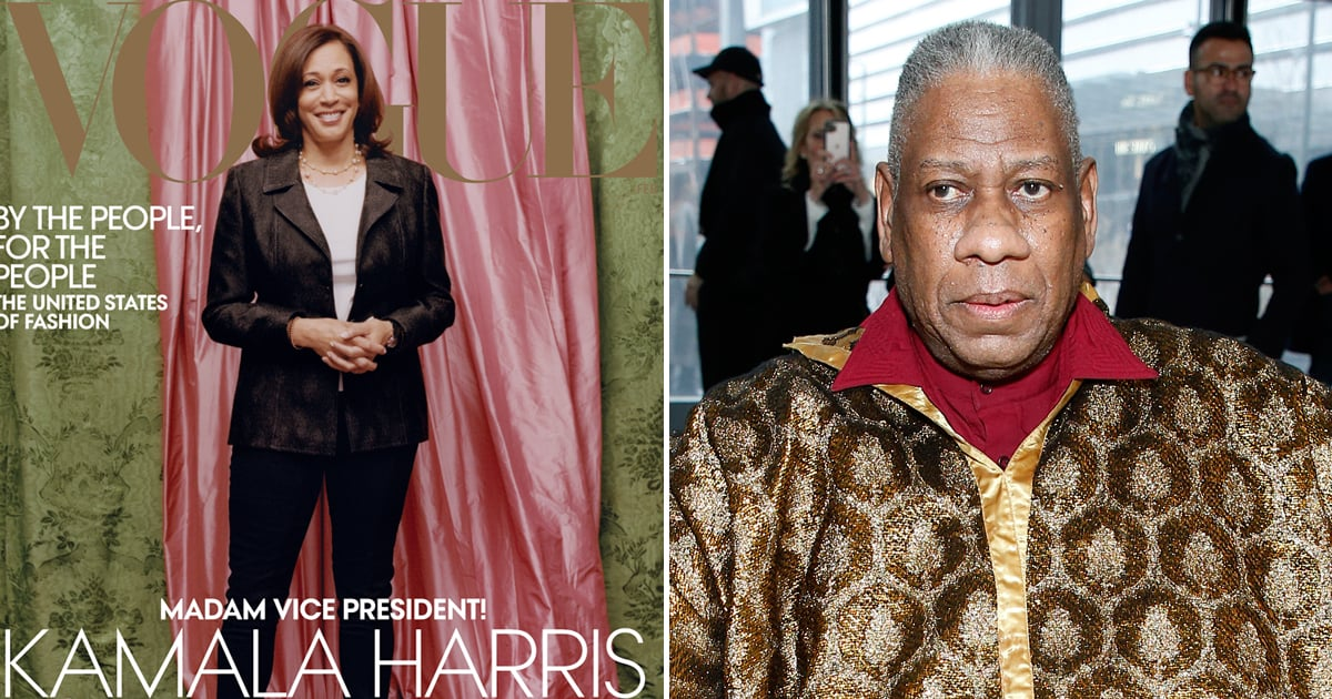 www.popsugar.com: André Leon Talley Reminds Critics That Kamala Is Not Covering Vogue as a Fashion Star