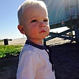 Mark-Paul posted an adorable picture of his son Dekker in January 2015.