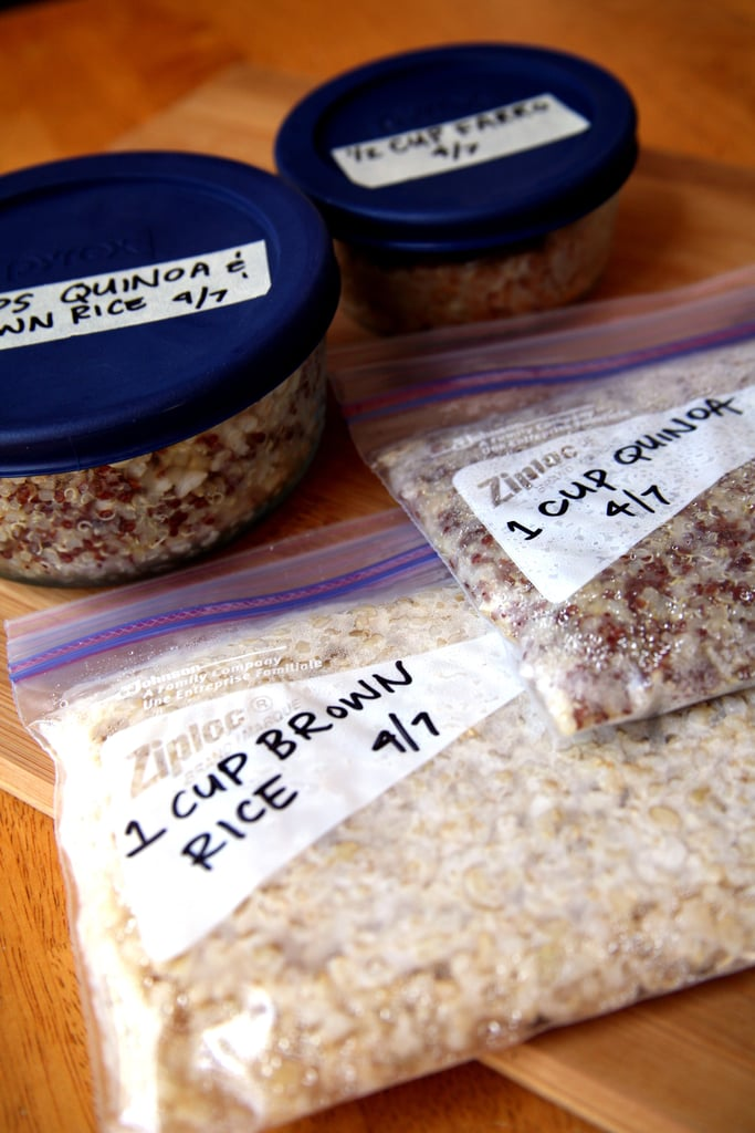 Freeze Cooked Whole Grains