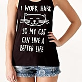 Bear Dance Cat Life Tank ($18)