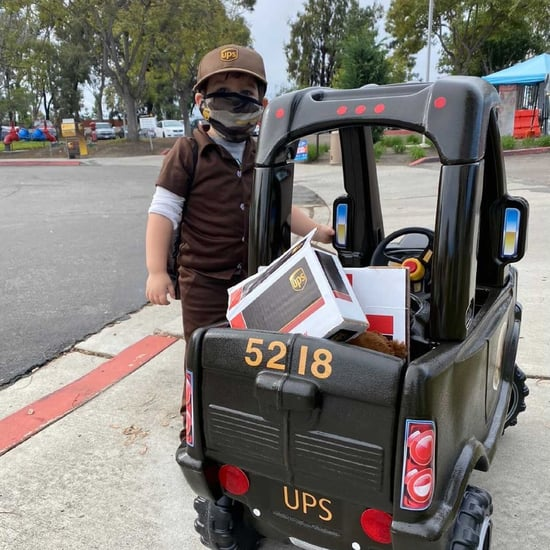 Boy Gets Mini Truck From Thoughtful UPS Employees