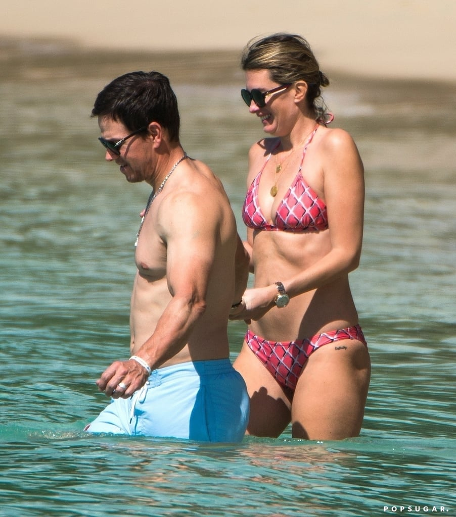 Mark Wahlberg Shirtless in Barbados Pictures December 2018