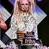 Britney Spears 35th Birthday at Jingle Ball Concert 2016