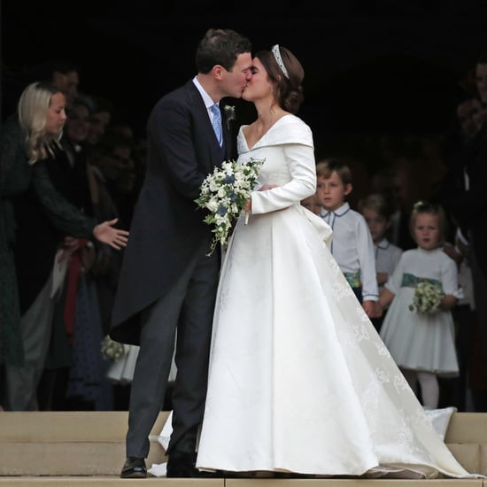 Princess Eugenie and Jack Brooksbank's Wedding Kiss Video