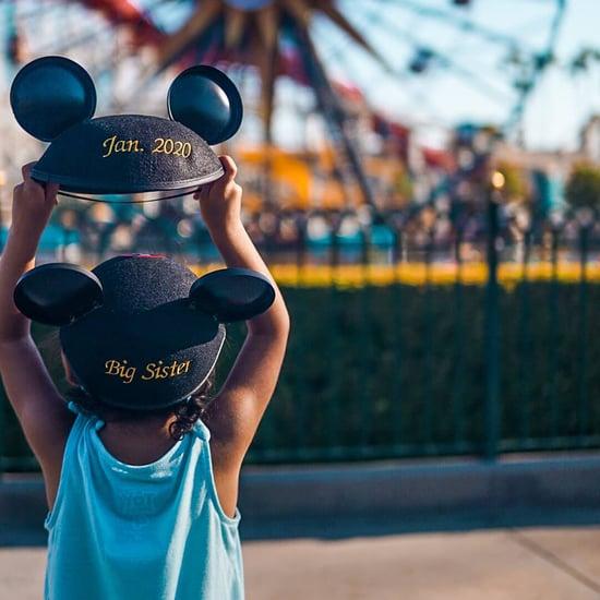 Disney Park Pregnancy Announcement Ideas