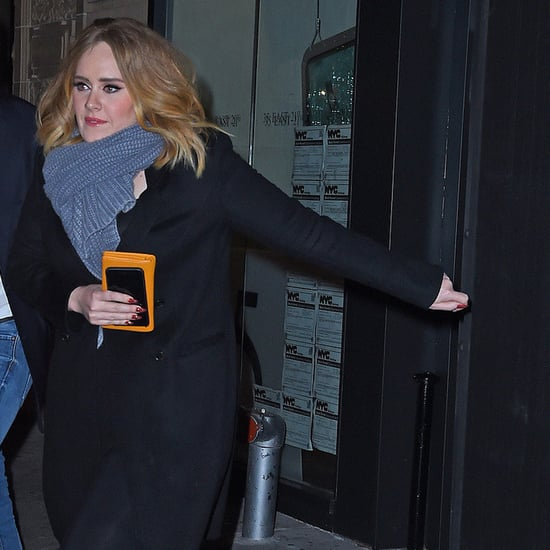 Jennifer Lawrence, Emma Stone, and Adele in NYC
