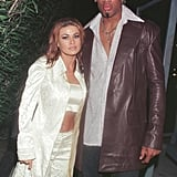 "Carmen Electra and Dennis Rodman were married in Las Vegas in November 1998 for only nine days before calling off the union. Carmen later compared her decision to marry Dennis in Vegas to ""getting a cheeseburger at a fast-food restaurant."""