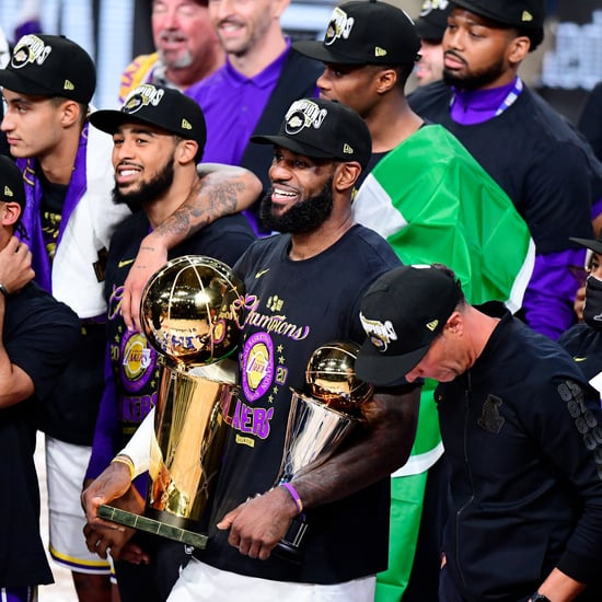 Los Angeles Lakers Honoured Kobe Bryant After Winning Finals