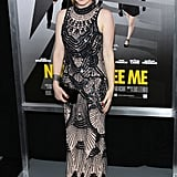 Isla Fisher wore L'Wren Scott for her NYC premiere of Now You See Me.