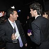 Adam Sandler and Ian Somerhalder