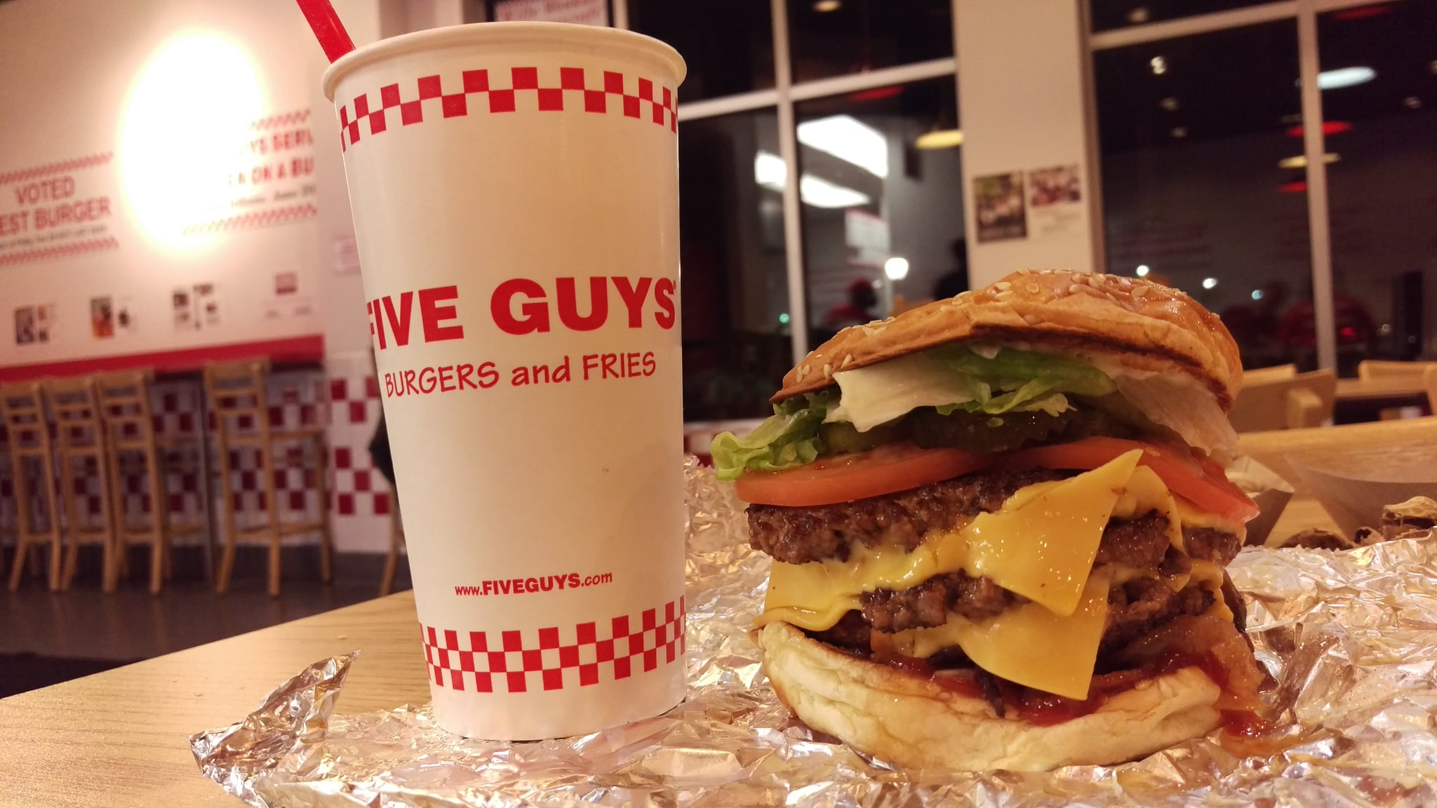 Five Guys May Have Just Been Named Americas Number One Burger Chain But It Turns Out Theres Way More To The Restaurant Than Grease Laden Takeout Bags And