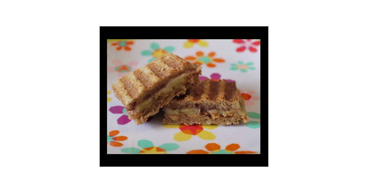 Peanut Butter and Jelly Panini | POPSUGAR Moms
