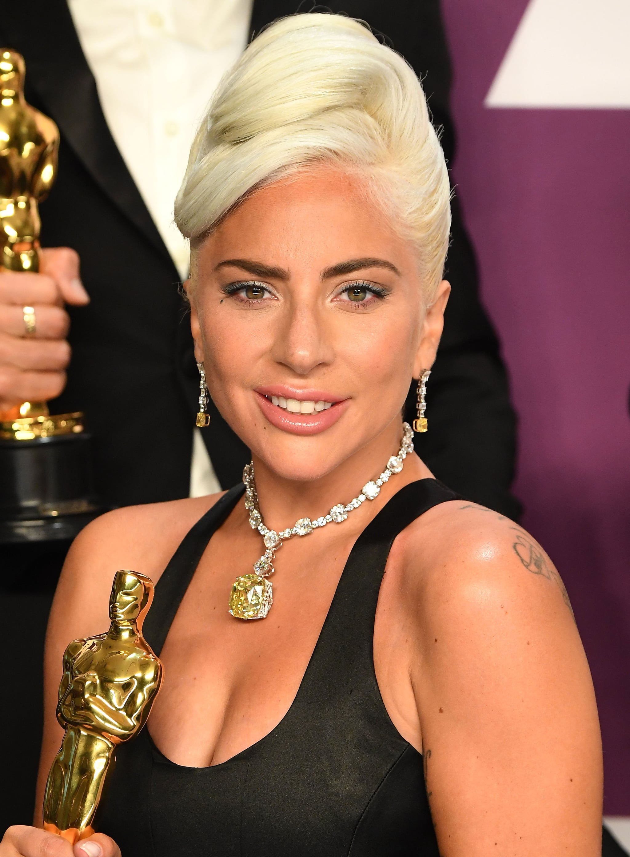 HOLLYWOOD, CALIFORNIA - FEBRUARY 24: Lady Gaga poses at the 91st Annual Academy Awards at Hollywood and Highland on February 24, 2019 in Hollywood, California. (Photo by Steve Granitz/WireImage )