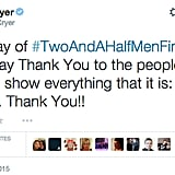 Jon Cryer thanked the show's fans.