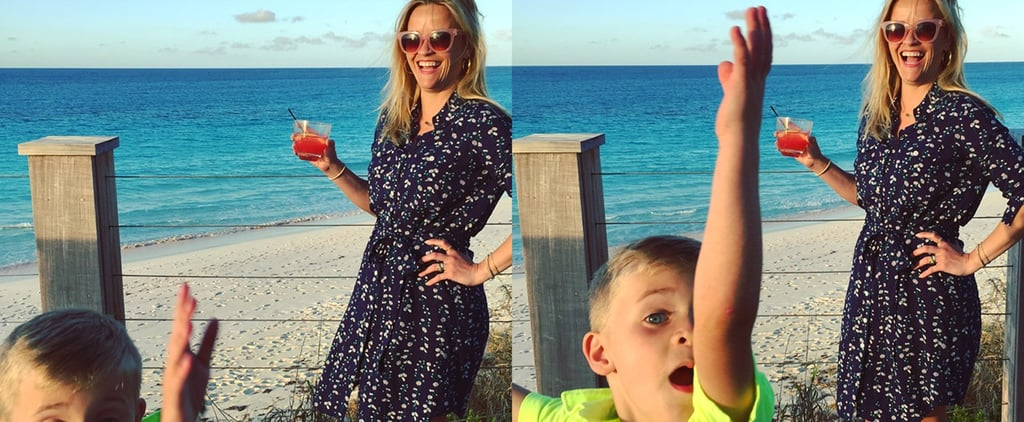 Reese Witherspoon Vacation Photos With Son