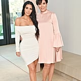 In June 2017, Kim and Kris Jenner celebrated the launch of KKW Beauty in LA.