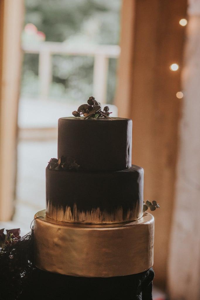 Black and Gold Halloween Wedding