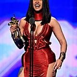 Cardi B at the 2019 MTV VMAs