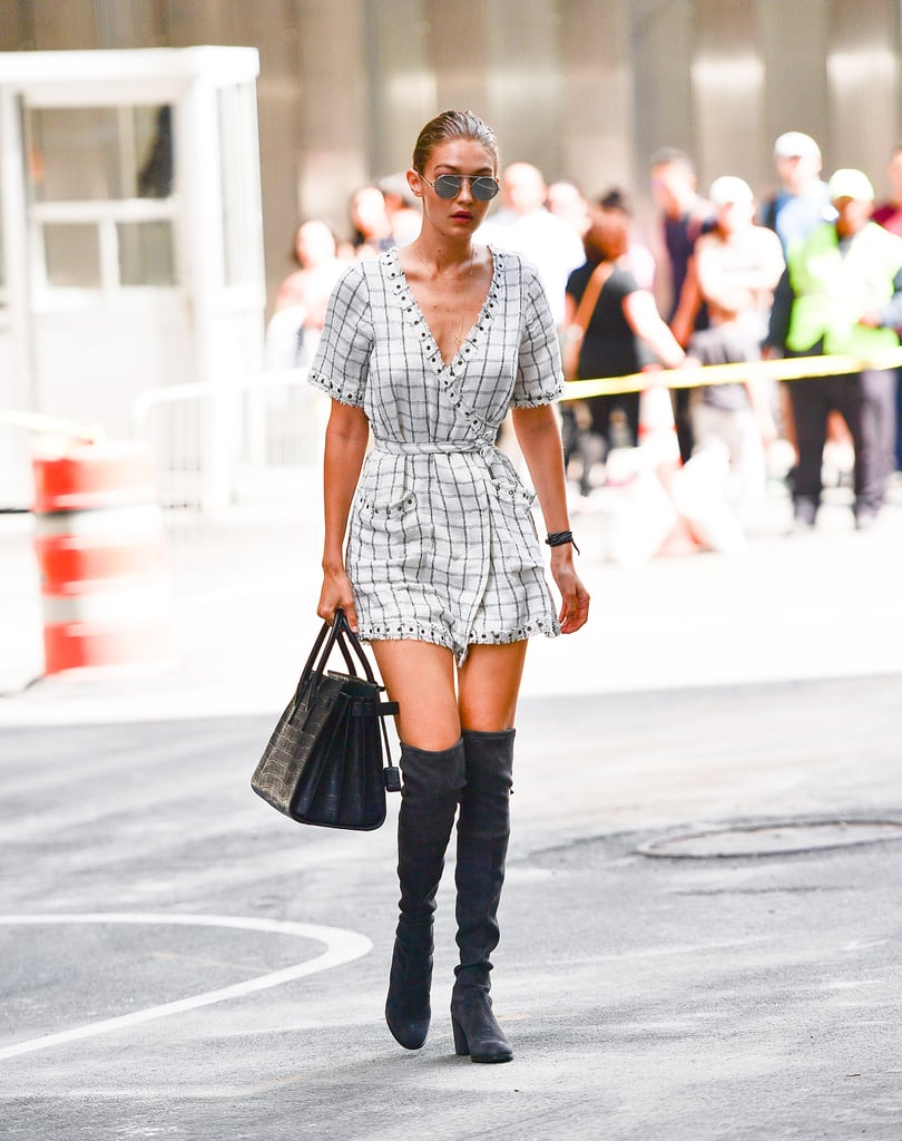 Gigi Hadid Always Wears This 1 Staple When She's Ready For Fall