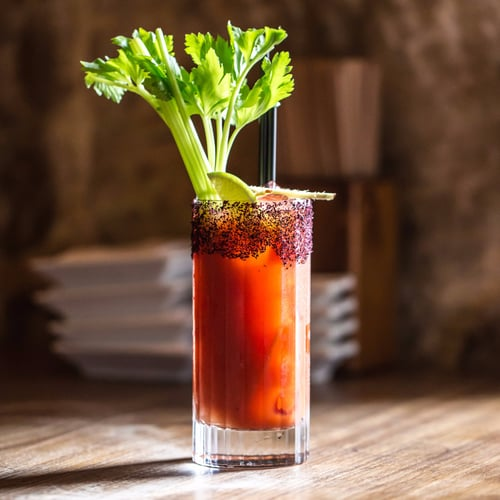 Saké's Bloody Mary